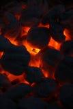 Charbons chauds 3 Images libres de droits