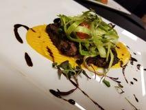 Charbroiled-Steak Butternut rein lizenzfreie stockfotos