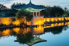 Charca de Anapje - Cheongju Corea Fotografía de archivo
