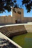 Charca de la ciudad en Bukhara Imágenes de archivo libres de regalías