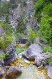 Charca de la montaña Fotografía de archivo