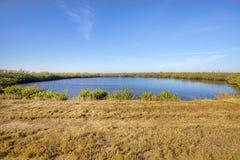 Charca de Merritt Island National Wildlife Refuge, lago Fotos de archivo