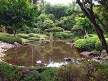 Charca del jardín Imagen de archivo libre de regalías