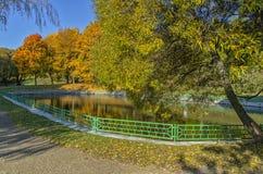 Charca del otoño Imagenes de archivo