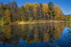 Charca del otoño en Tsaritsyno fotos de archivo