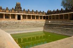 Charca del templo Fotografía de archivo