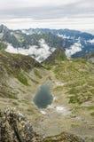 Charca en el valle Imagen de archivo