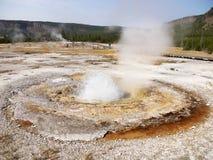 Charca la termal del vapor Parque nacional de Yellowstone Imagen de archivo