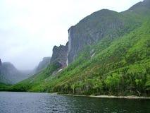 Charca occidental del arroyo en Gros Morne National Park Imágenes de archivo libres de regalías