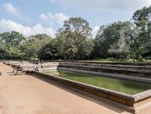 Charcas gemelas, Anuradhpura foto de archivo libre de regalías