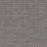 Charchoal灰色砖墙 免版税库存照片