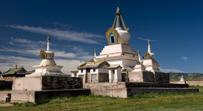 Charchorin monastery. In the Charchorin city (old Karakorum) is the oldest monastery in Mongolia royalty free stock photos