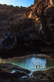 Charco Azul. El Hierro. Royalty Free Stock Images