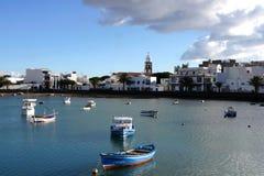 Charco de Сан Gines, Arrecife, Лансароте Стоковые Фото