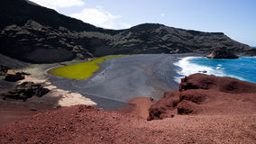 Charco de los Clicos, Lanzarote Royalty Free Stock Photography