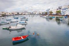 Charco de SAN Gines Arrecife, Κανάρια νησιά Στοκ φωτογραφίες με δικαίωμα ελεύθερης χρήσης