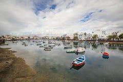 Charco de SAN Gines Arrecife, Κανάρια νησιά Στοκ Εικόνες