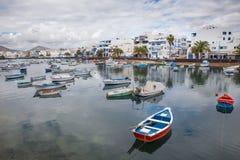 Charco de SAN Gines Arrecife, Κανάρια νησιά Στοκ φωτογραφία με δικαίωμα ελεύθερης χρήσης