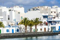 Charco de SAN Gines, Arrecife, Στοκ Φωτογραφία