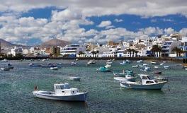 Charco de SAN Gines, Arrecife, Lanzarote, Κανάρια νησιά Στοκ φωτογραφία με δικαίωμα ελεύθερης χρήσης