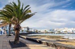 Charco de SAN Gines, Arrecife, Lanzarote Στοκ φωτογραφία με δικαίωμα ελεύθερης χρήσης
