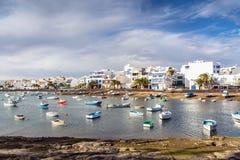 Charco de SAN Gines, Arrecife, Lanzarote Στοκ Εικόνες