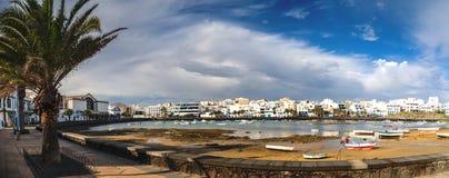 Charco de SAN Gines, Arrecife, Lanzarote Στοκ Φωτογραφίες