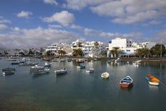Charco de SAN Gines Arrecife Lanzarote Στοκ Φωτογραφίες