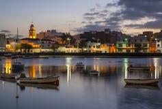 Charco de SAN Gines Arrecife Lanzarote Στοκ φωτογραφία με δικαίωμα ελεύθερης χρήσης