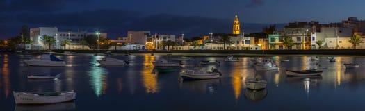 Charco de SAN Gines Arrecife Lanzarote Στοκ φωτογραφίες με δικαίωμα ελεύθερης χρήσης