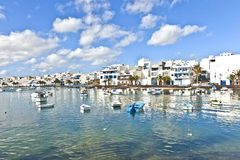 Charco de SAN Gines, Arrecife, Lanzarote Στοκ Φωτογραφία