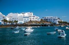 Charco DE San Gines, Arrecife, Lanzarote, Canarische Eilanden Stock Afbeelding