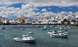 Charco de San Gines, Arrecife, Lanzarote, Canary Islands Royalty Free Stock Photography