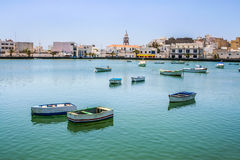 Charco de San Gines on midday in Arrecife Royalty Free Stock Image