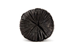 Charcoal. Made of wood (for japansese tea ceremony Royalty Free Stock Photos