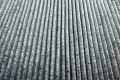 Charcoal air filter Royalty Free Stock Image