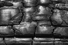 Charcoal background Stock Image