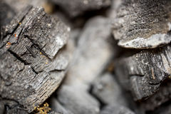 Charcoal background and texture on blurry focus. Royalty Free Stock Photos