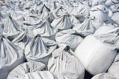 Charcoal Bags Stock Image