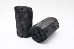 The charcoal Royalty Free Stock Photography
