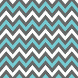 Charcoal, Blue and White Chevron Royalty Free Stock Images