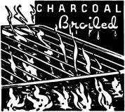 Charcoal Broiled Stock Images