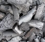 Charcoal coal Stock Image
