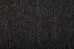 Charcoal Color Carpet Stock Image