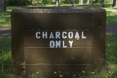 Charcoal Only Stock Photography