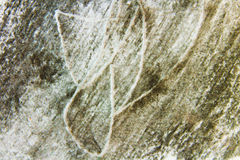Charcoal Drawing Background. Detail Surface Royalty Free Stock Images