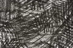 Charcoal drawing on paper texture background. Black charcoal drawing on paper texture background Stock Photo