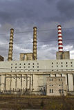 Charcoal electric power plant Stock Photo