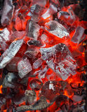 Charcoal Fire Royalty Free Stock Photos
