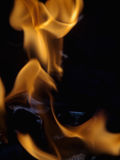 Charcoal fire Royalty Free Stock Photography